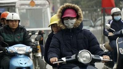 Bắc Bộ tiếp tục rét đậm, Nam Bộ mưa dông