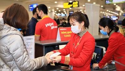 Đón năm mới cực 'chất' với đại tiệc khuyến mãi bay cùng Vietjet