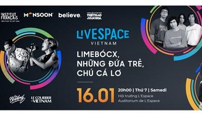 Đêm nhạc LiveSpace Vietnam 1