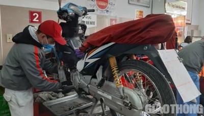 Những việc cần biết khi bảo dưỡng xe máy dịp Tết