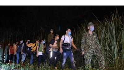 Cao Bằng: Nửa tháng, gần 2.000 công dân nhập cảnh trái phép