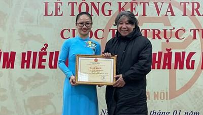 Trao giải cuộc thi 'Tìm hiểu 1010 năm Thăng Long - Hà Nội'