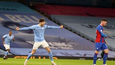 Đại thắng Crystal Palace, Man City áp sát Man Utd