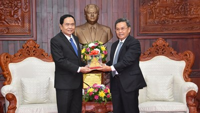 BẢN TIN MẶT TRẬN: Chủ tịch Trần Thanh Mẫn gửi thư chúc mừng UBTƯ Mặt trận Lào xây dựng đất nước