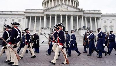 Washington sẵn sàng cho Lễ nhậm chức của ông Joe Biden
