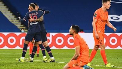 Neymar và Mbappe cùng tỏa sáng, PSG giữ vững ngôi đầu bảng Ligue 1