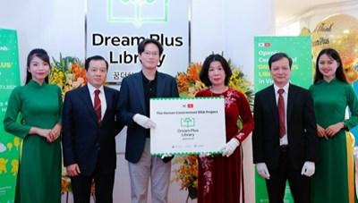 Khánh thành 'Thư viện những ước mơ' cho độc giả nhí Hà Nội