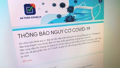 Có được khai báo qua mạng nếu nghi nhiễm hoặc biết người nghi nhiễm Covid-19?