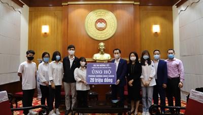 BẢN TIN MẶT TRẬN: Học sinh trường THPT Phan Đình Phùng chung tay phòng, chống dịch Covid-19