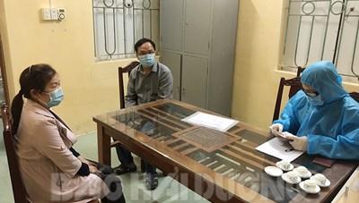Phạt hai người Trung Quốc trốn cách ly y tế tại huyện Cẩm Giàng
