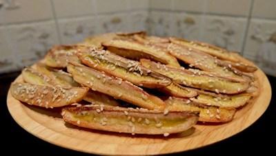 Cách làm món chuối nướng tẩm mè