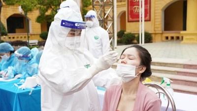 Hải Dương: Lấy gần 7.000 mẫu xét nghiệm SARS-CoV-2 cho người có nguy cơ cao