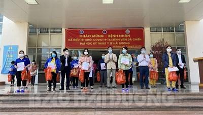 Hải Dương: Bệnh nhân 'siêu lây nhiễm' ở Cẩm Giàng xuất viện