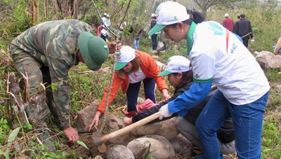 Khởi động Tháng Thanh niên, hưởng ứng Tết trồng cây và Tháng Ba biên giới