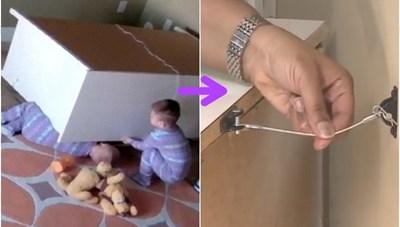 Những vật dụng an toàn cho trẻ nên trang bị trong nhà