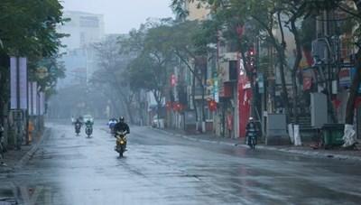 Thời tiết ngày 3/3: Hà Nội có mưa nhỏ vài nơi, trời rét