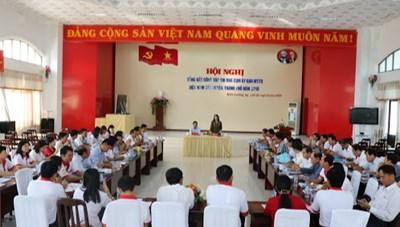 Kiên Giang: Phát động thi đua công tác cụm