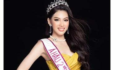 Ngọc Thảo lọt vào Top 10 Video giới thiệu tại Hoa hậu Hoà bình quốc tế