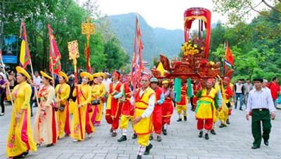 Lễ hội Hoa Lư 2021 chỉ tổ chức một số nghi lễ truyền thống