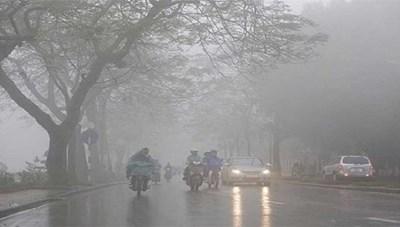 Hà Nội có mưa phùn kèm sương mù, đêm và sáng trời lạnh