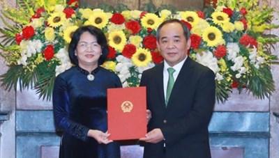 Ông Lê Khánh Hải chính thức giữ chức Chủ nhiệm Văn phòng Chủ tịch nước