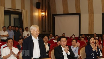 Tổng Bí thư, Chủ tịch nước được cử tri nơi cư trú tín nhiệm cao