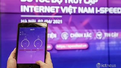 Ra mắt ứng dụng đo tốc độ truy cập Internet 'Make in VietNam' i-Speed