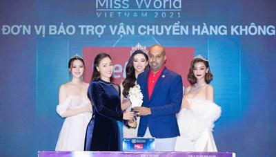 Vietjet tiếp tục là nhà bảo trợ vận chuyển chính thức của Miss World Vietnam 2021