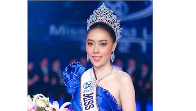 Hoa hậu Lào bất ngờ trả lại vương miện sau 3 ngày đăng quang