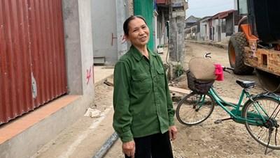 {ẢNH}Nam Định: Giáo dân dỡ nhà hiến đất mở đường