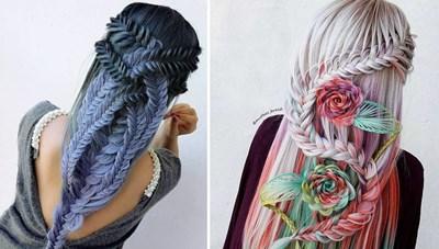 [ẢNH] Đẹp ngỡ ngàng những sáng tạo từ tóc tết