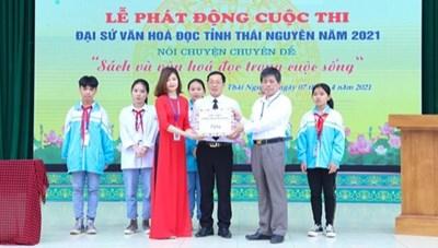 Phát động Cuộc thi 'Đại sứ Văn hóa đọc năm 2021'