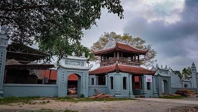 Xử lý vi phạm xây dựng tại Di tích Quốc gia chùa Đậu