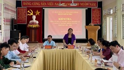 Kim Bôi (Hòa Bình): Công tác chuẩn bị bầu cử đảm bảo tiến độ, đúng quy trình, quy định
