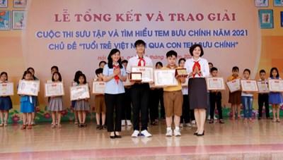 'Tuổi trẻ Việt Nam qua con tem bưu chính'