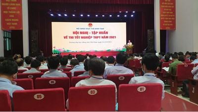Tập huấn về thi tốt nghiệp THPT 2021 cho 63 tỉnh, thành phố