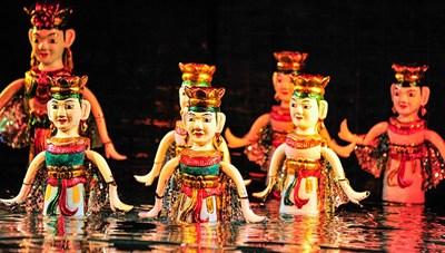 Tổ chức Liên hoan nghệ thuật múa rối nước không chuyên