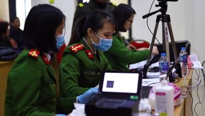 Gần 3 triệu người dân Hà Nội đã làm căn cước công dân