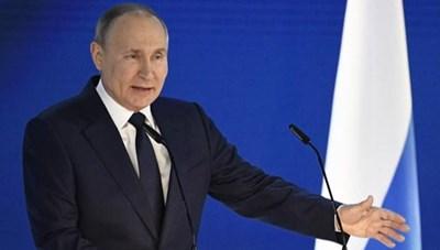 Thông điệp Liên bang: Tổng thống V.Putin cảnh báo về 'lằn ranh đỏ'