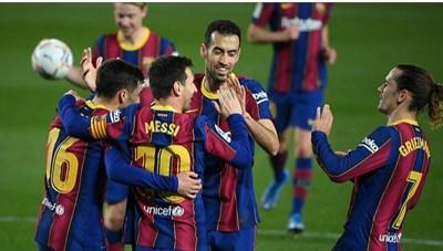 Messi lập cú đúp, Barcelona sống lại giấc mơ vô địch La Liga