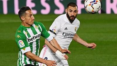 Hòa thất vọng, Real Madrid thất thế ở cuộc đua vô địch La Liga