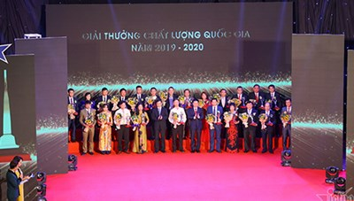 116 doanh nghiệp giành Giải thưởng Chất lượng quốc gia năm 2019-2020