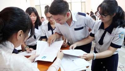 Phải chuẩn từ phiếu đăng ký dự thi