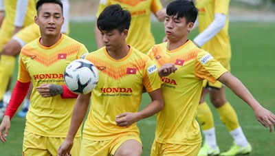 Tuyển Việt Nam công bố 35 cầu thủ dự vòng loại World Cup 2022