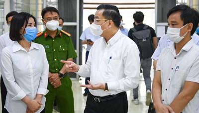Chủ tịch Chu Ngọc Anh được yêu cầu làm Trưởng BCĐ phòng chống Covid-19 TP Hà Nội