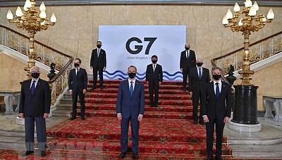 Các nước Nhóm G7 cam kết mở rộng sản xuất vaccine ngừa COVID-19