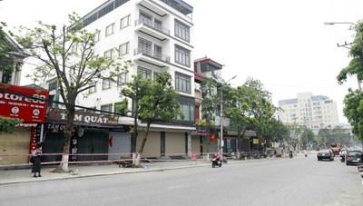 [ẢNH] Vĩnh Phúc: Cách ly xã hội toàn thành phố Vĩnh Yên