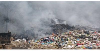 Nhức nhối bãi rác ô nhiễm