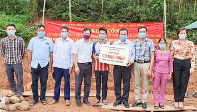 Quảng Ninh: Khởi công 4 nhà Đại đoàn kết tại TP Hạ Long