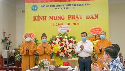 MTTQ tỉnh Quảng Ninh chúc mừng Đại lễ Phật đản